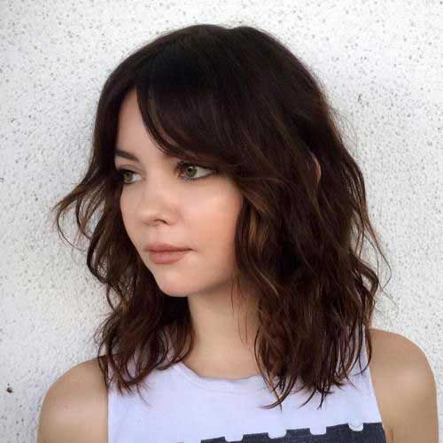 Hairstyles For Round Faces: Best 20 Short Haircut Ideas For Round Faces