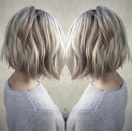 Short Blonde Hairstyles-7