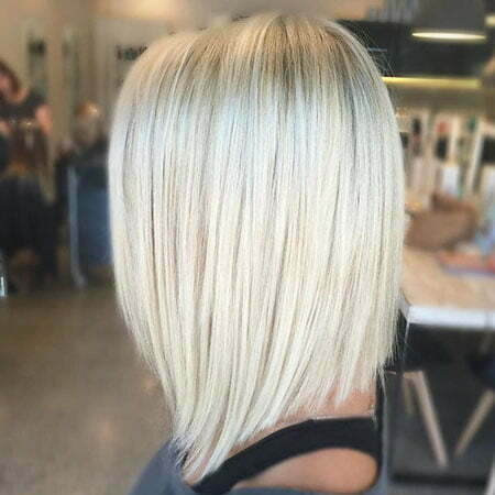 25 Short Straight Blonde Hairstyles 2017 2018 Short