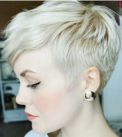 Short Blonde Hairstyles-8