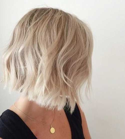 Short Hair Blonde