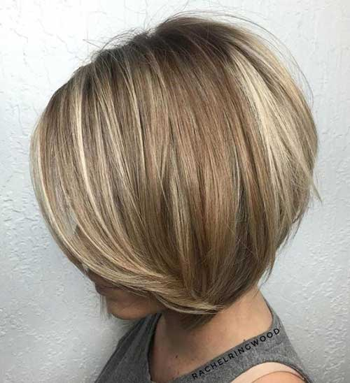 Bob Hair with Balayage
