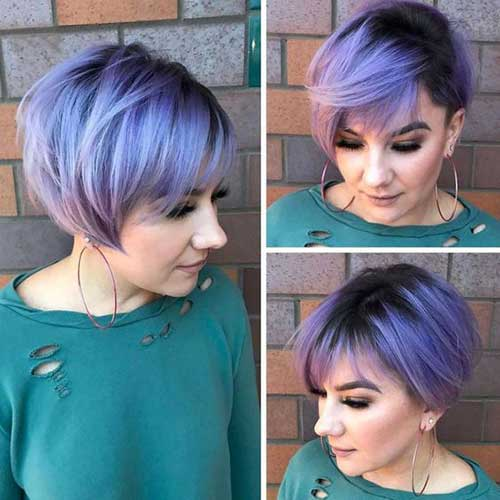 Hair Colors for Short Haircuts
