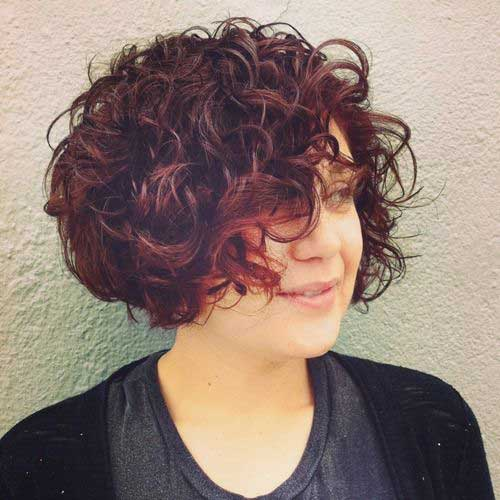 Curly Short Haircuts