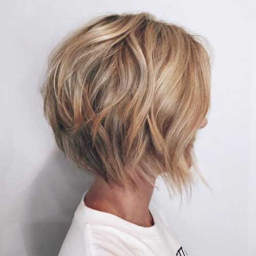 Amazing Graduated Bob Haircuts For Modern Ladies Short