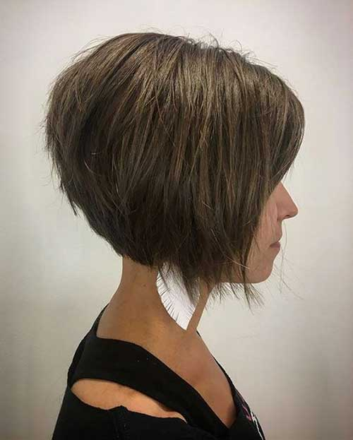 Layered Short Bob Cuts