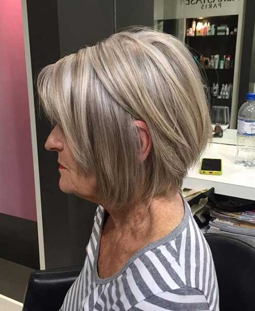 Short Haircuts for Older Ladies