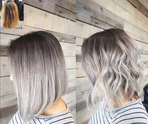 Silver Short Hairstyles