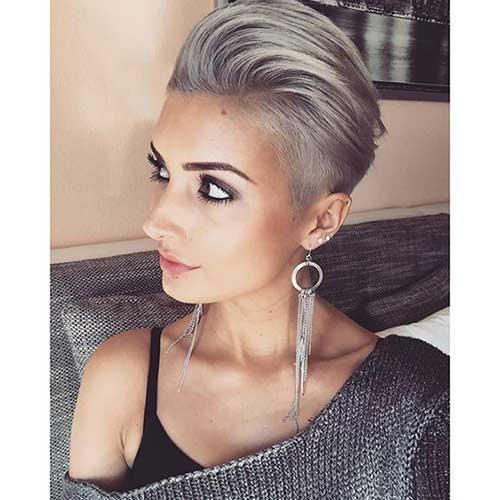 20 long pixie haircuts you should see short hairstyles 2017 2018 most popular short. Black Bedroom Furniture Sets. Home Design Ideas