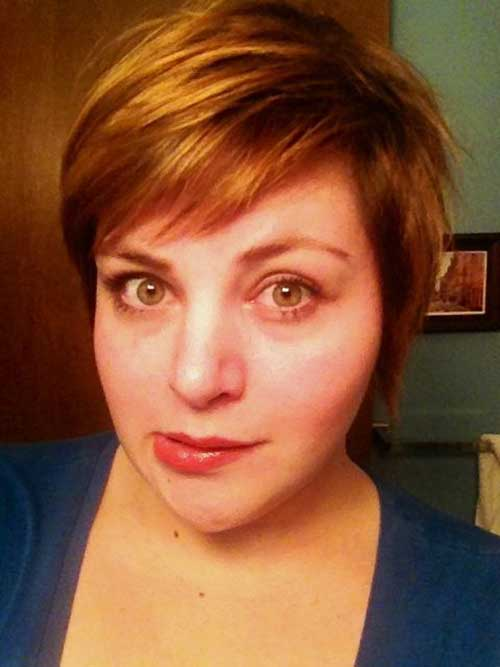Short Haircuts for Fat Faces-11