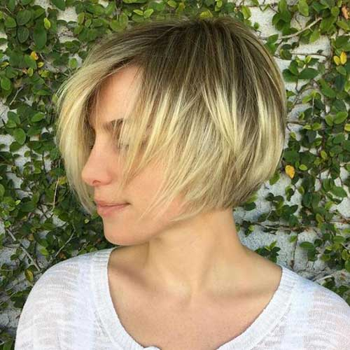 Short Hairstyles for Fine Hair-12