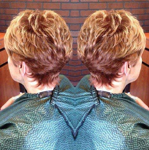 Short Haircuts for Older Women-12