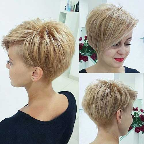 Short Hairstyles for Fine Hair-13
