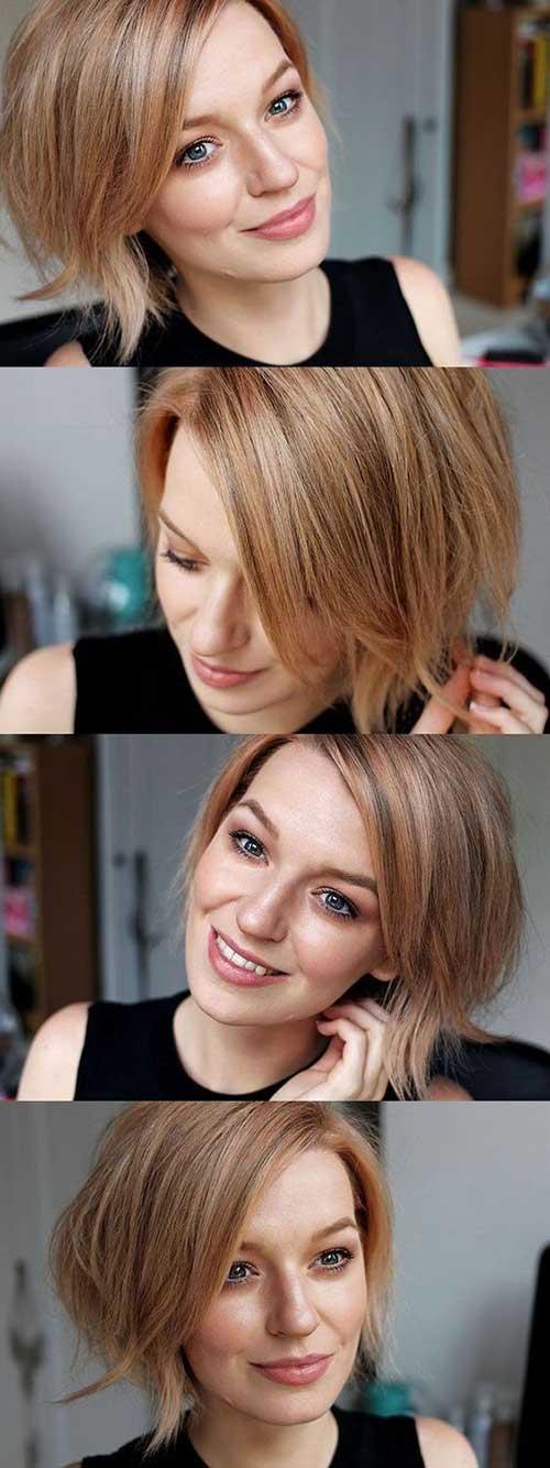 Cute Short Hairstyles-16
