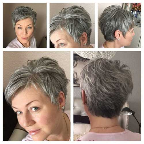 Short Haircuts for Older Women-20