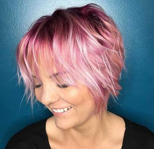 Short Hairstyles for Fine Hair-23