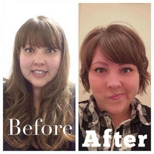 25 Pretty Short Haircuts For Chubby Round Face Short Hairstyles