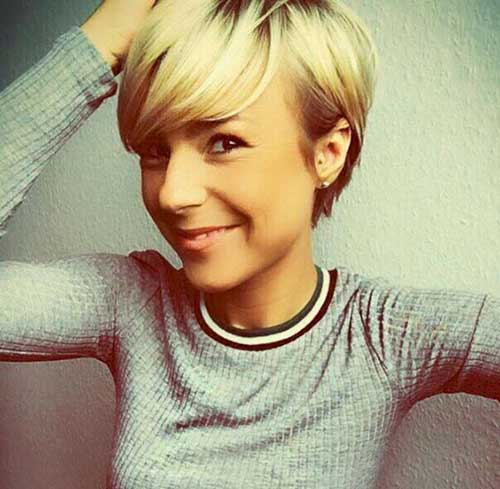 Short Hairstyles for Fine Hair-26