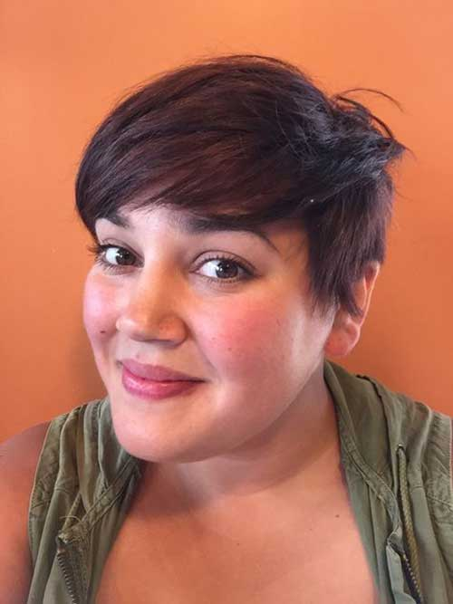 Short Haircuts for Fat Faces-6