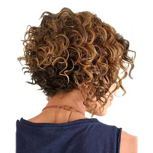 Latest Short Curly Hairstyles: 20 Latest Short Curly Hairstyles