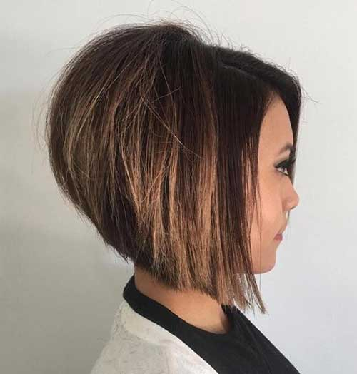 Chic Inverted Bob Hair Cuts For Women Short Hairstyles 2018 2019