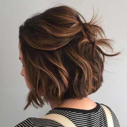 Short Colored Hair