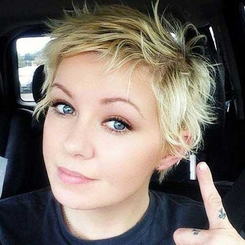 cute short haircuts for round faces haircuts for shape hairstyles 1143 | Short Cute Haircut for Round Faces