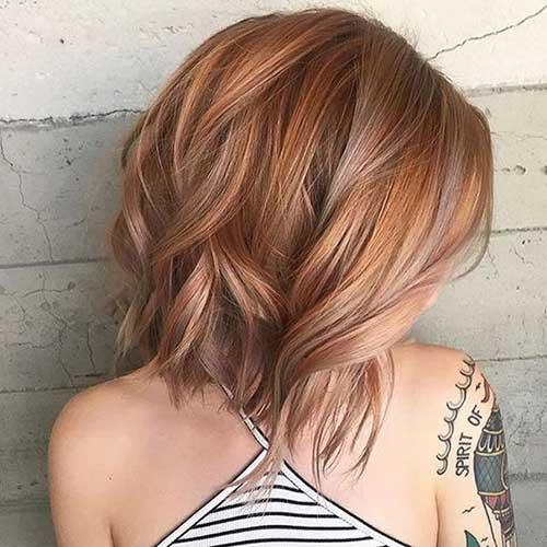 Short Hair Color