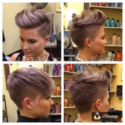 Short Hair Side Cuts