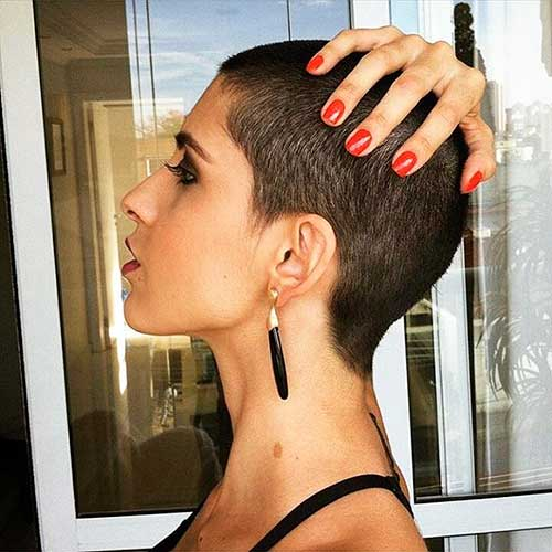 Very Short Hairstyle - 11