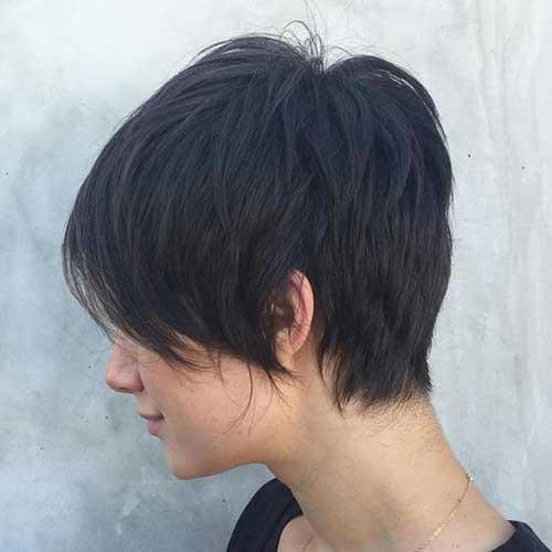 Brunette Short Hairstyles-11