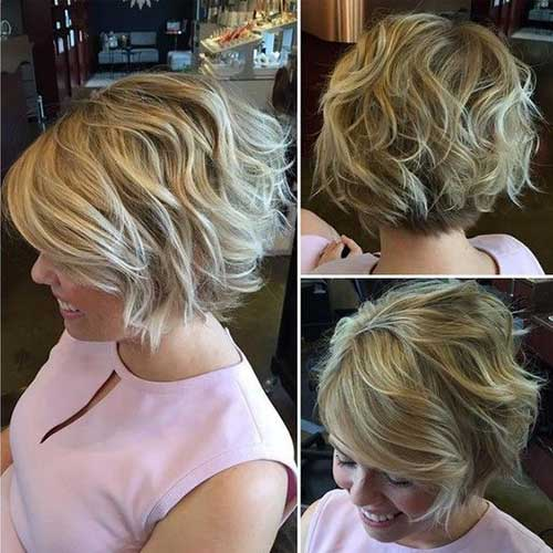 Short Wavy Hairstyles-12