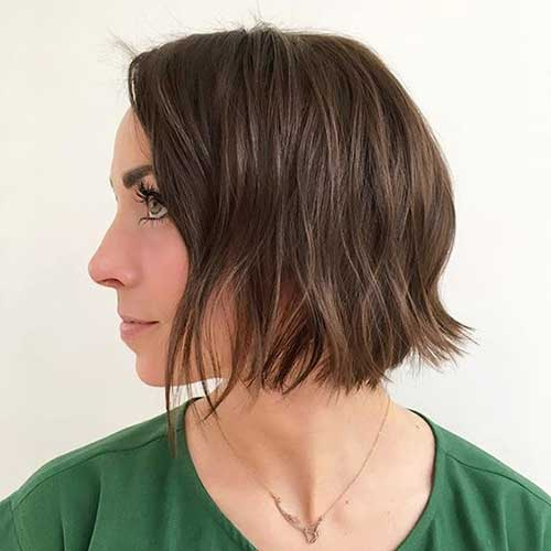 Brunette Short Hairstyles-14