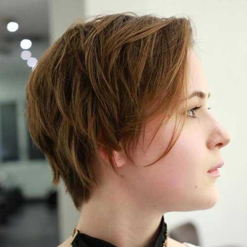 Layered Short Hairstyles-15