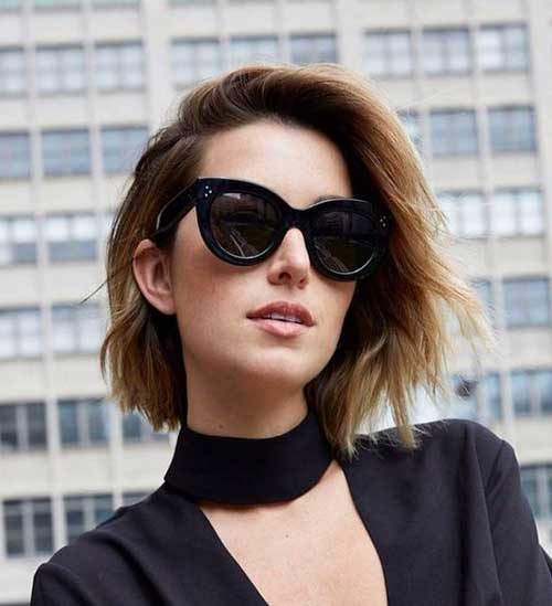stylish haircuts for 2018 textured bob haircut with 20 pics hairstyles 9739