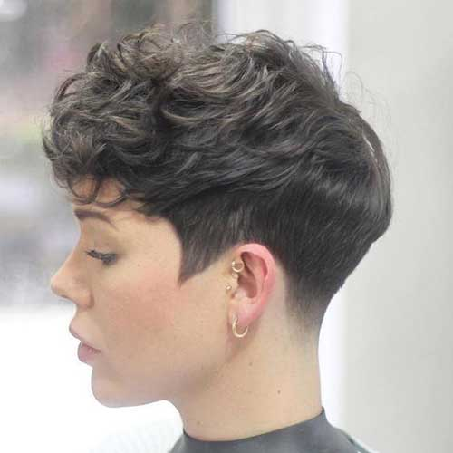 20 Edgy Short Hairstyles and Haircuts - crazyforus