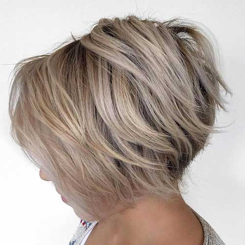 Layered Short Hairstyles-20