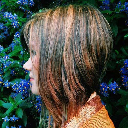 Brunette Short Hairstyles-6