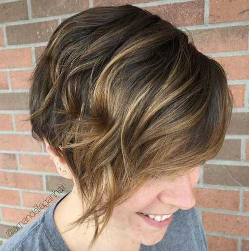 Layered Short Hairstyles-6