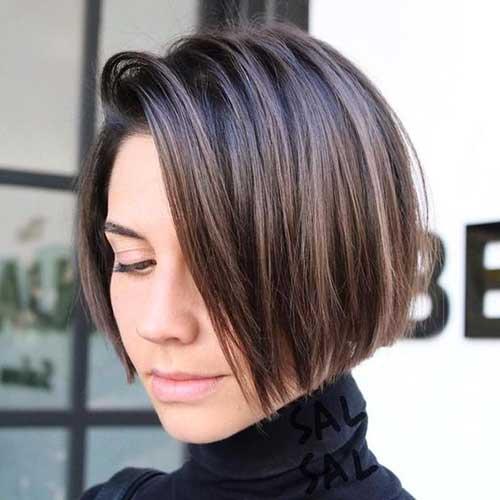 Brunette Short Hairstyles-7