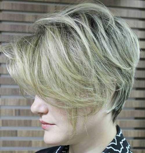 Layered Short Hairstyles-7