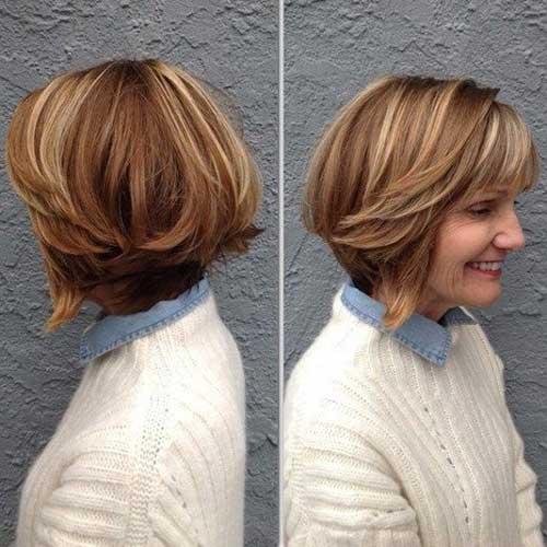 Short Haircuts with Bangs-8