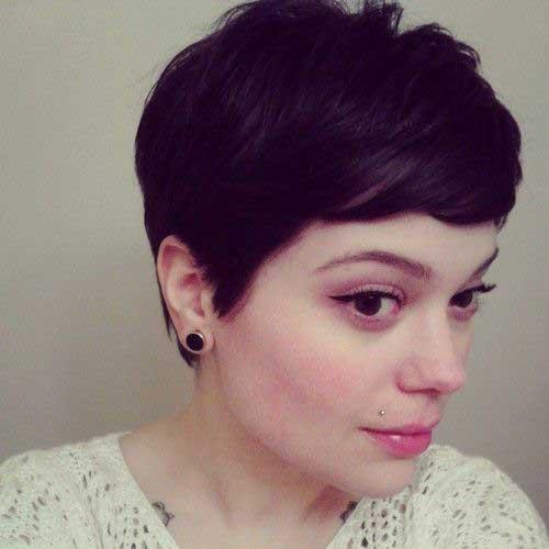 Brunette Short Haircuts