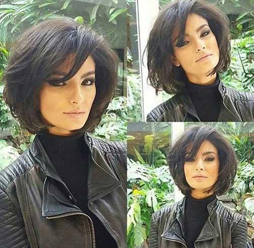 2018 Short Hair with Bangs