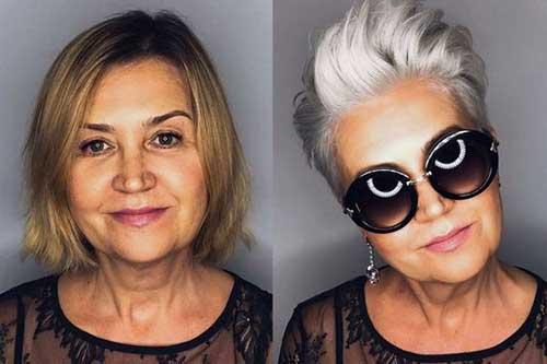 Short Haircuts for Older Women-10