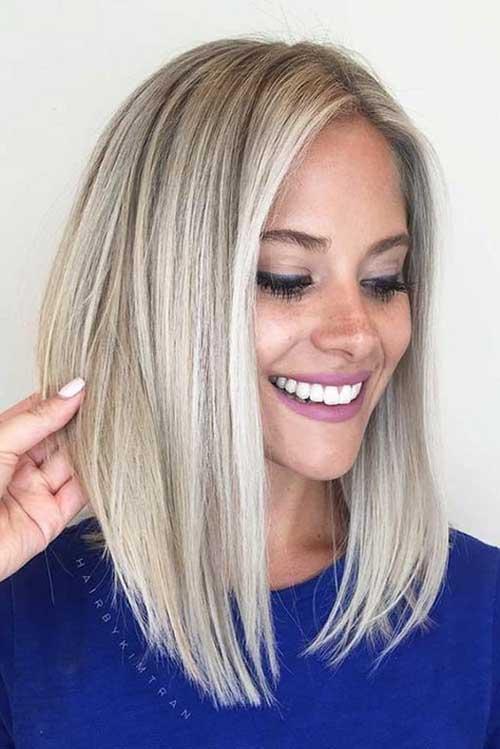 Short Blonde Hair 2018-16
