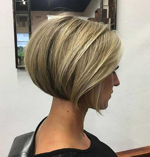Short Blonde Hair 2018-18