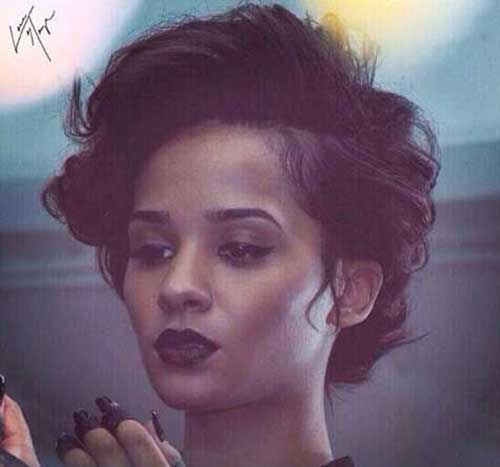 Short Hairstyles for Black Women-18