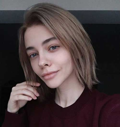 Short Hairstyles for Fine Hair-19