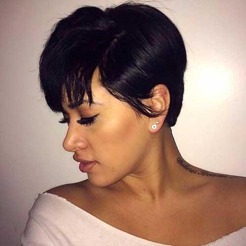 Short Hairstyles for Black Women-21
